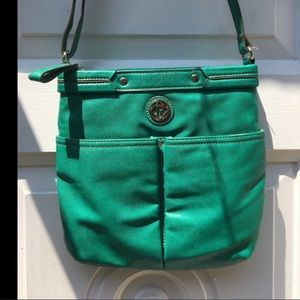 🎃RELIC green crossover bag